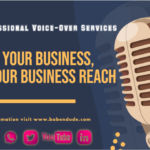 How Does Professional Voice Over Services Benefit Your Business, Improve Your Business Reach By Babendude